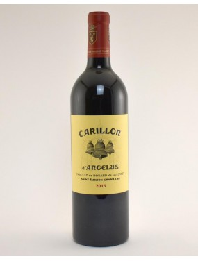 Saint Emilion Grand Cru Classe Second Vin du Chateau Angelus 2016 Le Carillon d'Angelus