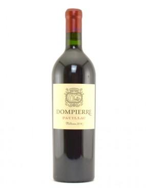 Pauillac Dompierre 2015 Chateau Dompierre