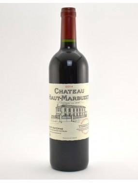 Saint Estephe Cru Bourgeois Exceptionnel 2015 Chateau Haut Marbuzet