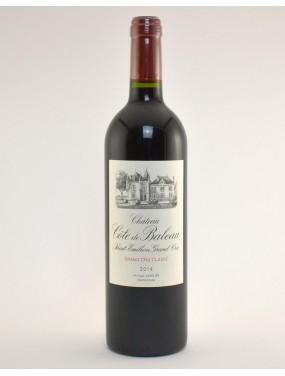 St Emilion Grand Cru Classé 2016 Château Côtes de Baleau