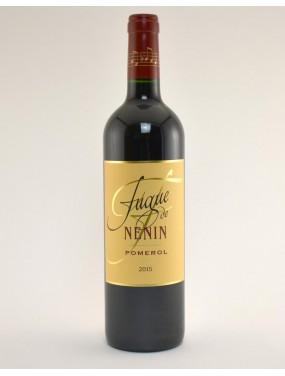 Pomerol La Fugue de Nenin 2015 Second Vin du Château Nenin